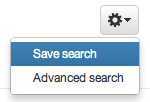 Twitter Save Search Command