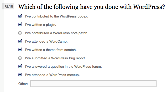 Things I've done with WordPress